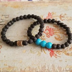 Jewelry - Lava Stone Bracelets for Essential Oils